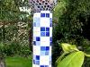 colonne en mozaique
