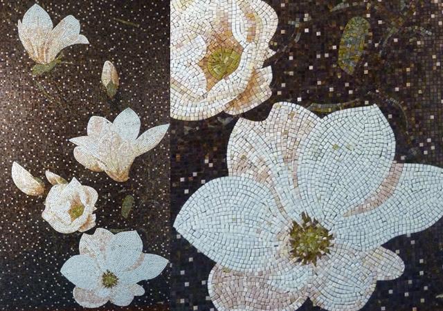 fleurs-mosaïque