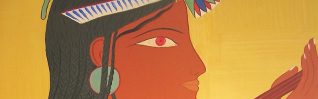 fresque égyptienne