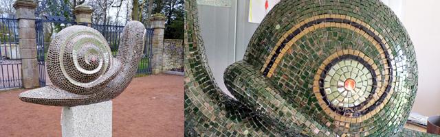 sculpture mosaique